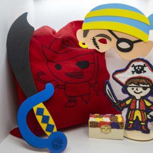 Pirate ArtBag ArtPod Rottingdean Brighton London South East England-1-new