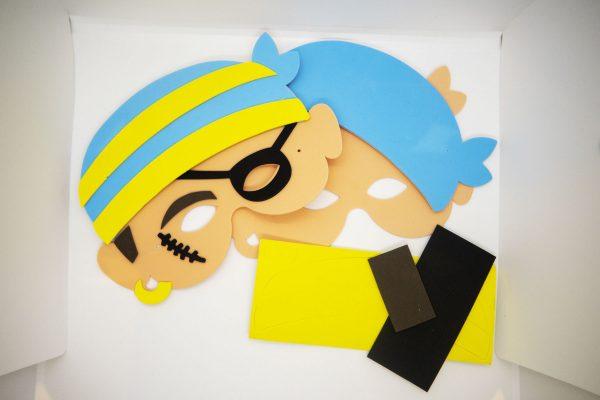 Pirate Mask ArtBag ArtPod Rottingdean Brighton London South East England-5-new