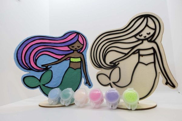 Mermaid ArtBag ArtPod Rottingdean Brighton London South East England 4 new