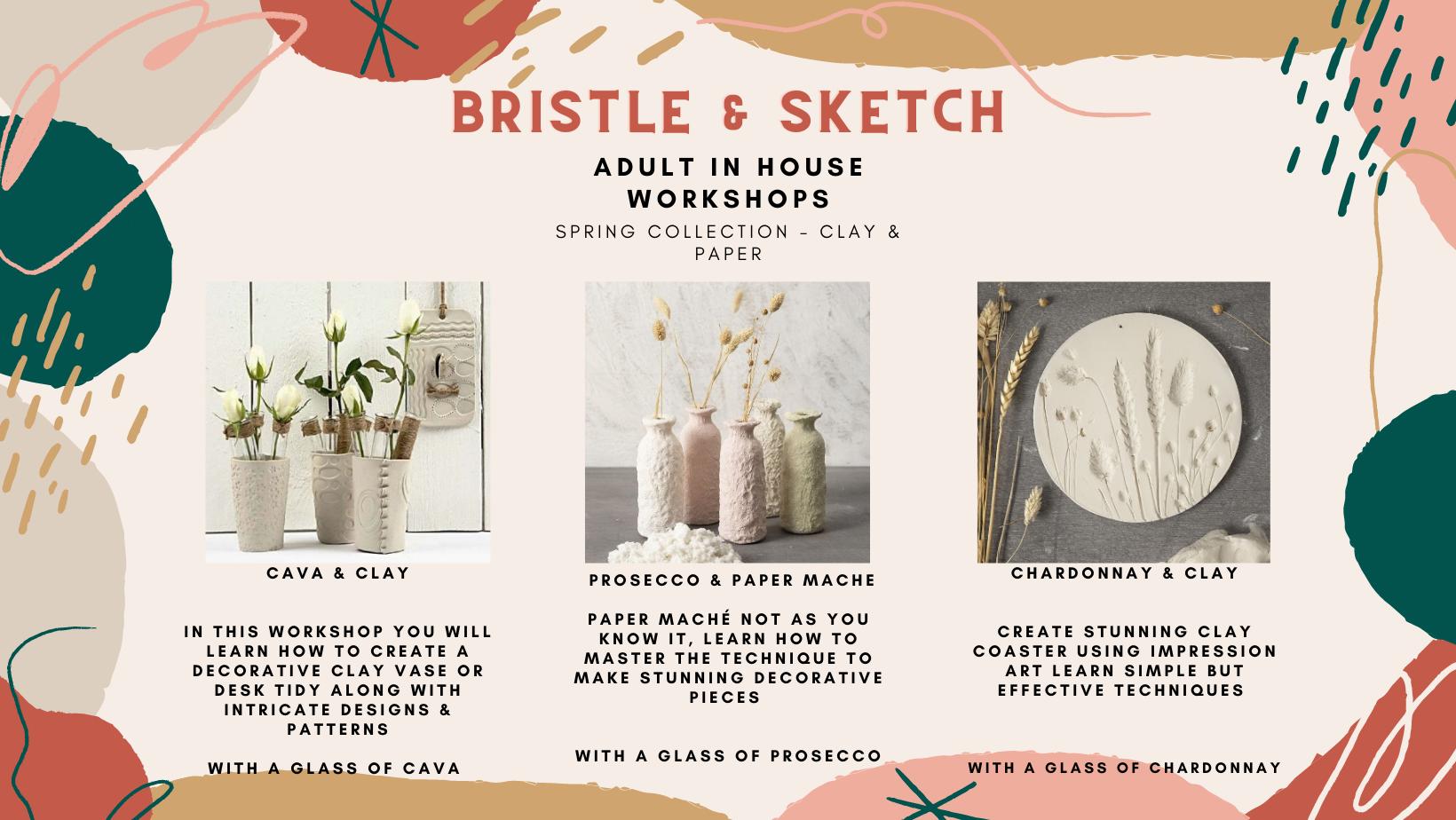 Bristle & Sketch Menu