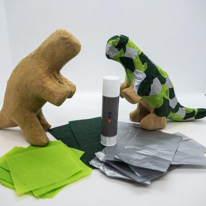 Dinosaur maché Kit