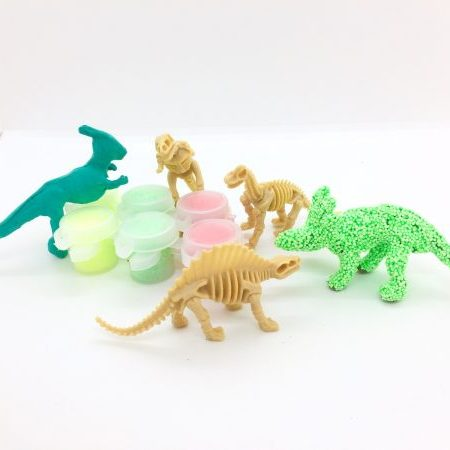 Dinosaur skeleton clay kit