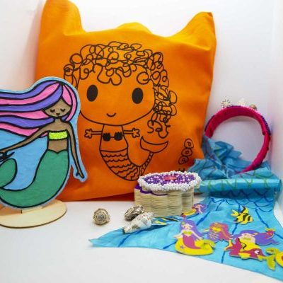 Mermaid ArtBag ArtPod Rottingdean Brighton London South East England 4 new