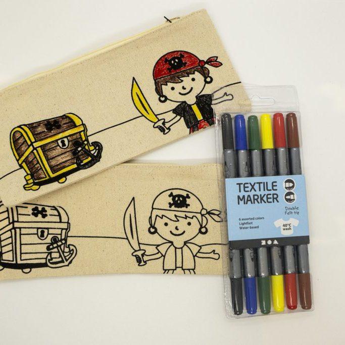 Pirate Colour In Pencil Case