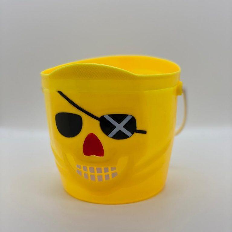 Pirate bucket yellow