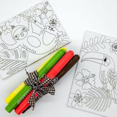 Sloth + Pens
