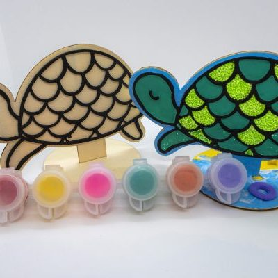 Sunshine turtle clay