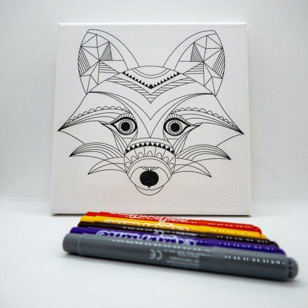 Wolf + Pens